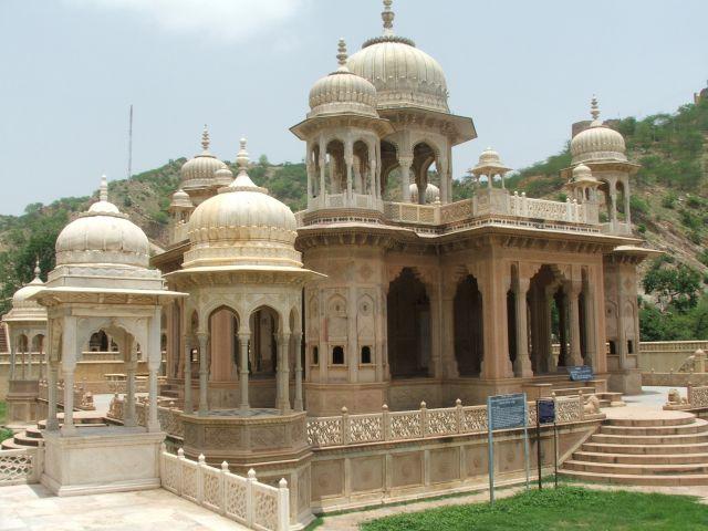 Zdjęcia: Jaipur, Radjastan, Świątynia bez turystów- Jaipur, INDIE