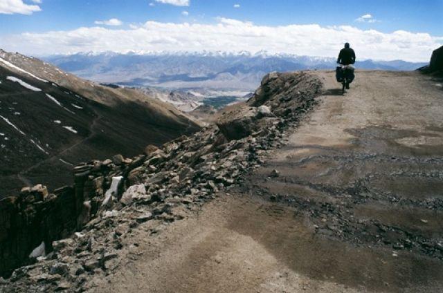 Zdjęcia: Na pólnoc od Leh, Ladakh, Podjazd, INDIE