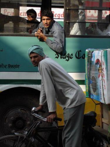 Zdjęcia: Delhi, Ile osób dziś przewiozłem?, INDIE