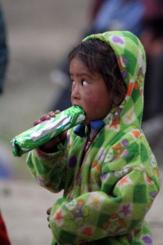 Zdjęcia: Jezioro Tsomori Ri, Himalaje, Dziewczynka z ciastkami, INDIE