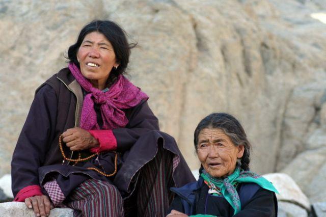 Zdjęcia: Leh, Himalaje, Tybetanki, INDIE