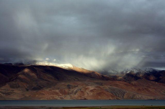 Zdjęcia: Jezioro Tsomori Ri, Ladakh, Światła, INDIE