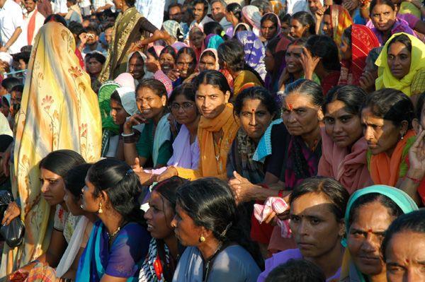 Zdjęcia: Wagah, Punjab, Na granicy Indii i Pakistanu w Wagah, INDIE
