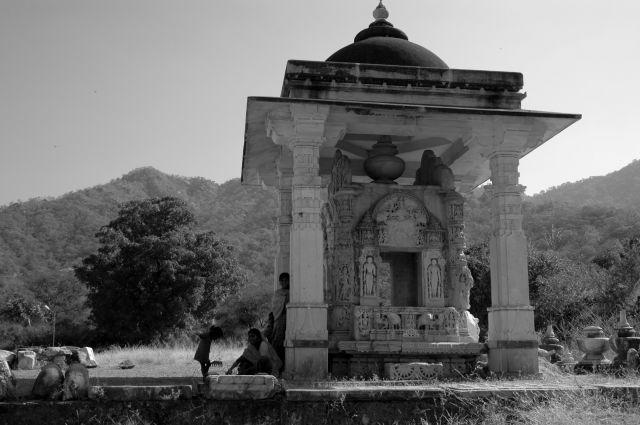 Zdjęcia: Ranakpur, Rajastan, dziewczynka zgrabiami, INDIE
