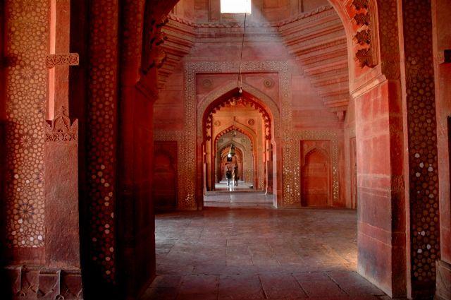 Zdjęcia: Fatehpur Sikri, Uttar Pradesh, promyk, INDIE