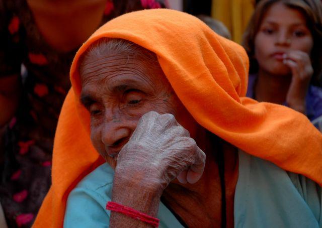 Zdjęcia: Jodhpur, Rajastan, staruszka, INDIE