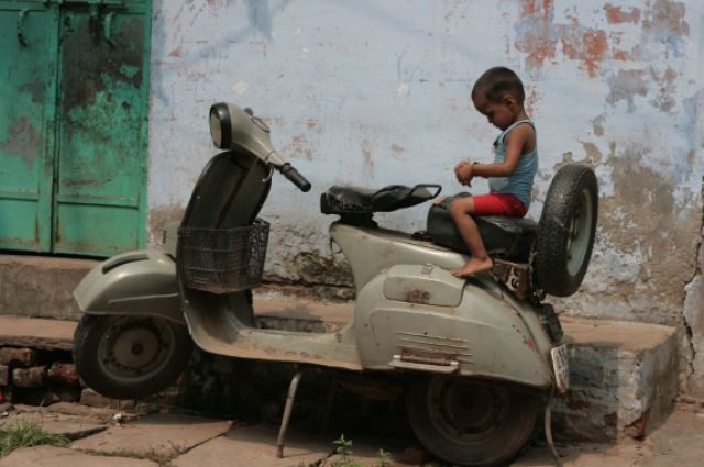 Zdjęcia: Varanasi, kolejny mieszkaniec Varanasi, INDIE