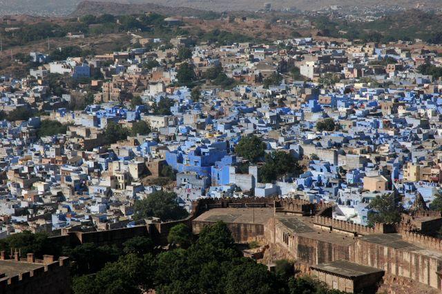Zdjęcia: Jodhpur, Rajastan, Niebieskie miasto, INDIE