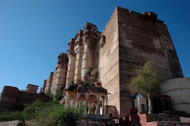 Zdj�cia: jodhpur, Rajastan, fort w Jodhpur, INDIE