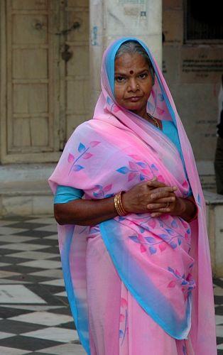 Zdjęcia: Pushkar, Rajastan, zwiedzająca, INDIE