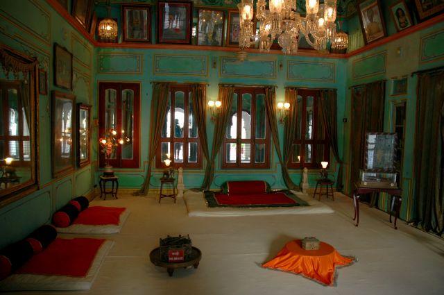 Zdjęcia: Jodhpur, Rajastan, w pałacu, INDIE
