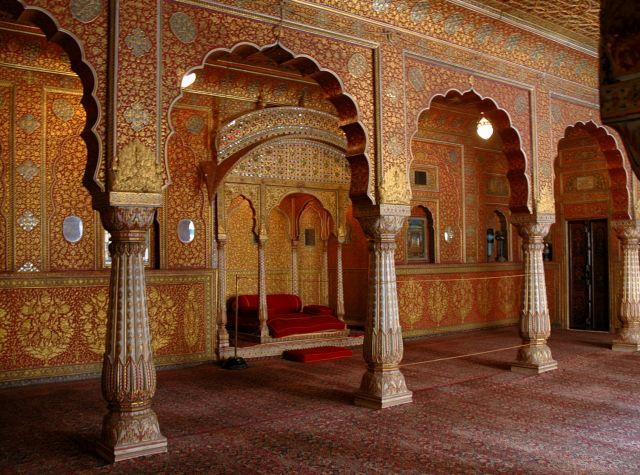Zdj�cia: Udajpur, Rajastan, w pa�acu, INDIE