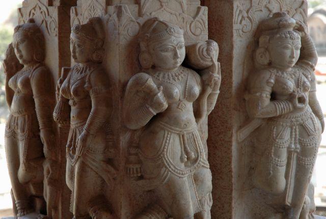 Zdjęcia: Jaipur, Rajastan, kobiety z marmuru, INDIE