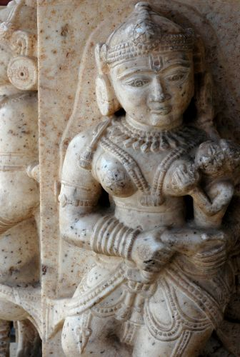 Zdjęcia: Jaipur, Rajastan, karmiąca, INDIE