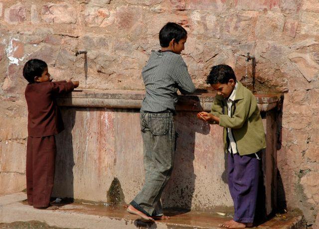 Zdjęcia: Fatehpur Sikri, Rajastan, spragnieni, INDIE