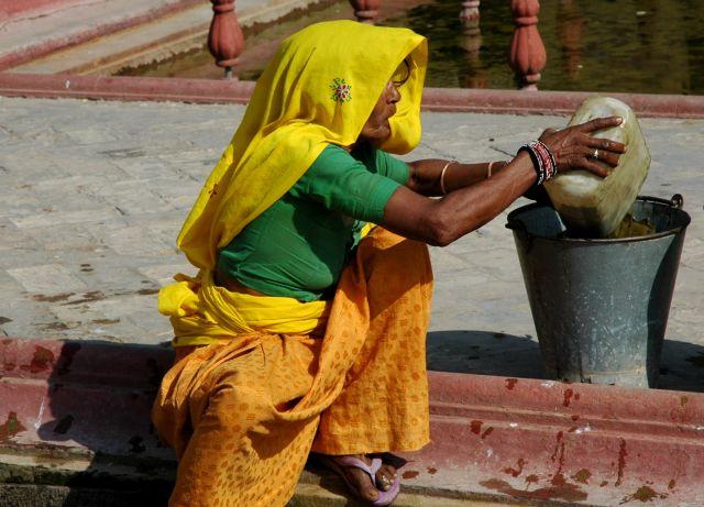 Zdjęcia: Jaipur, Rajastan, pracująca, INDIE