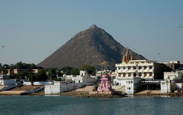 Zdjęcia: Pushkar, Rajastan, na jeziorem Pushkar, INDIE