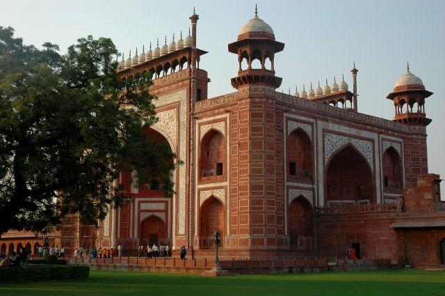 Zdjęcia: Agra, Uttar Pradesh, brama, INDIE