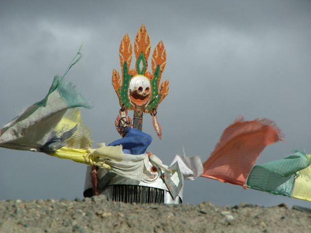 Zdjęcia: Dankhar, element gompy, INDIE