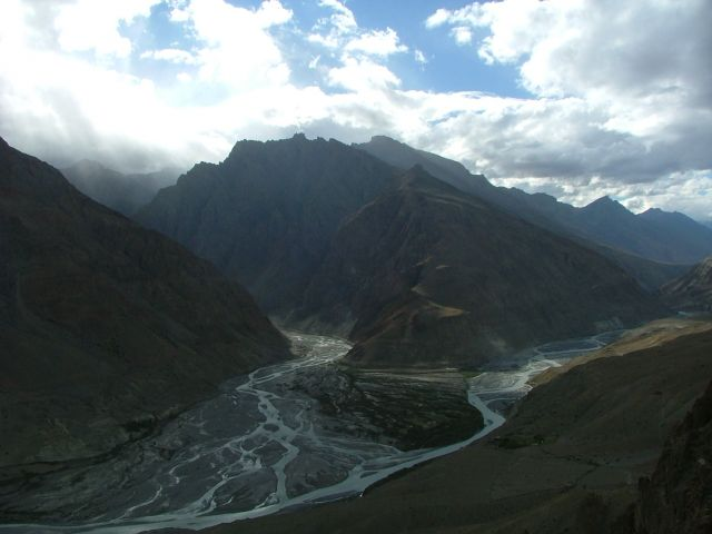 Zdj�cia: Dankhar, Spiti, dolina , INDIE