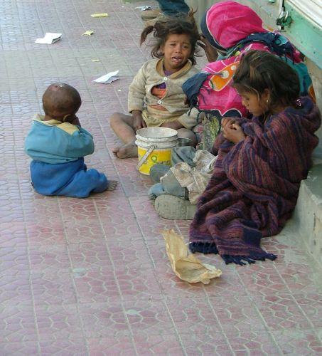 Zdj�cia: Leh, Ladakh, bieda na ulicach, INDIE