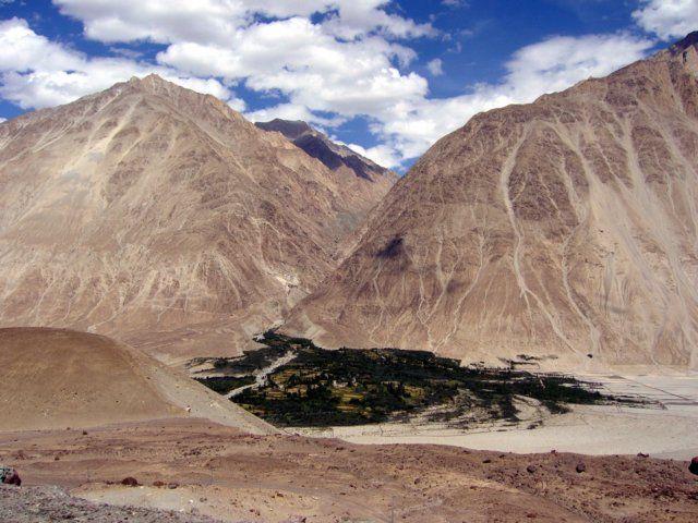 Zdjęcia: Ladakh, Himalaje, Oaza zieleni, INDIE
