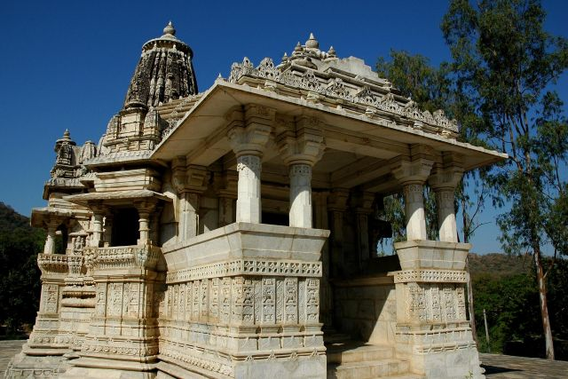 Zdjęcia: Ranakpur, Rajastan, światynka, INDIE