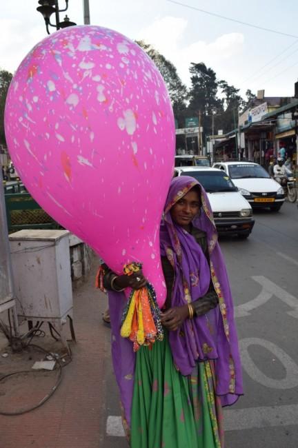 Zdjęcia: Ooty, Karnataka, Dziewczyna z balonami, INDIE