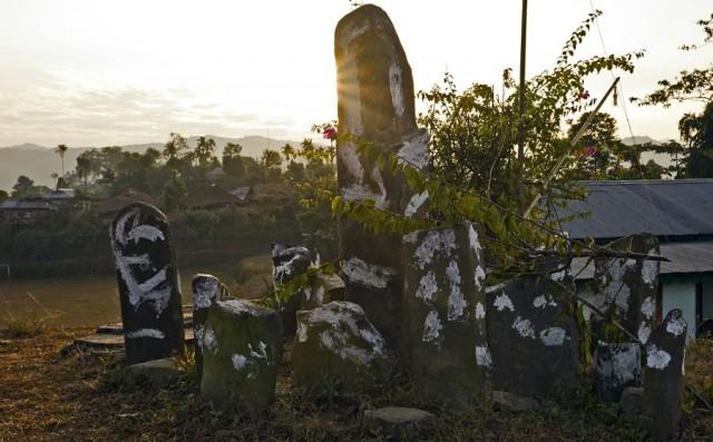 Zdjęcia: Mon, Nagaland, Kamienny Krąg, INDIE