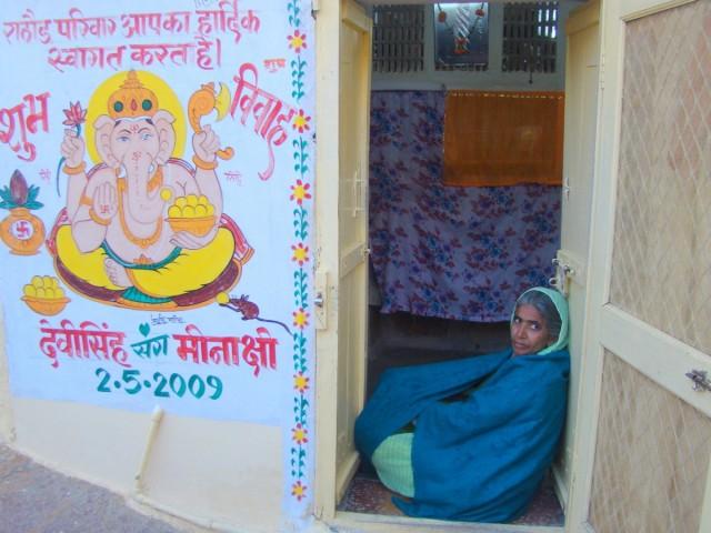 Zdjęcia: Jaisalmer, Radżastan, Na progu, INDIE