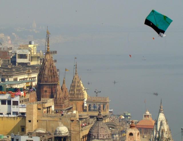 Zdjęcia: Varanasi, Uttar Pradesh, Święto latawca, INDIE