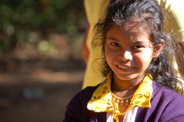 Zdjęcia: Okolice Poone, Twarze Indii, INDIE