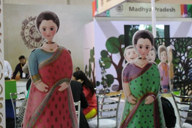 Zdjęcia: Bhopal, Madhya Pradesh, Targi turystyczne - Bhopal 2016, INDIE