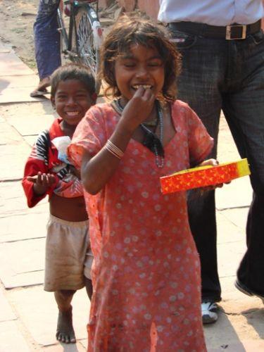 Zdjęcia: Delhi, cukierki sa dobre, INDIE