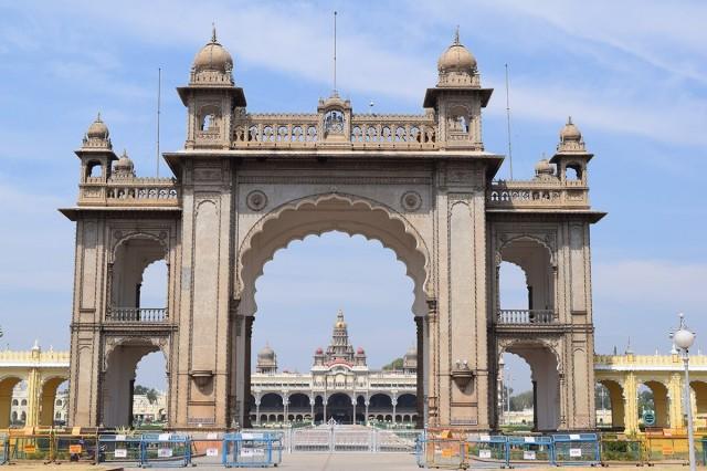 Zdjęcia: Mysore, Karnataka, Pałac w Mysore, INDIE