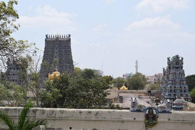 Zdjęcia: Madurai, Tamilnadu, Świątynia Minakszi w Maduraju 2, INDIE