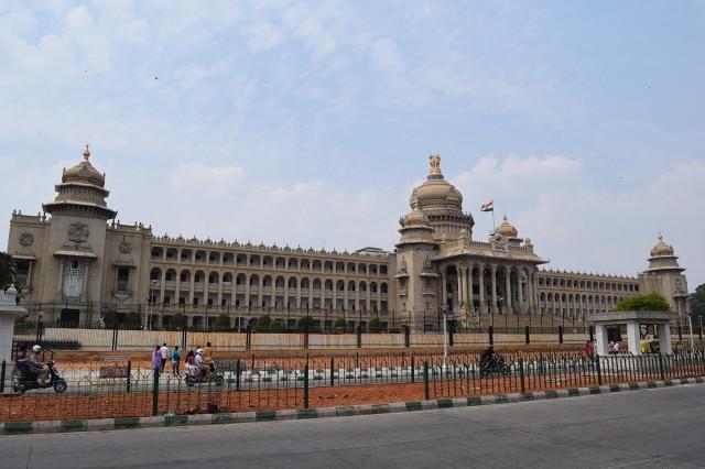 Zdjęcia: Bangalore, Karnataka, Vidhana Soudha, INDIE