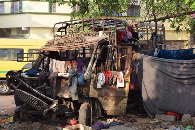 Zdjęcia: Bangalore, Karnataka, złom, INDIE