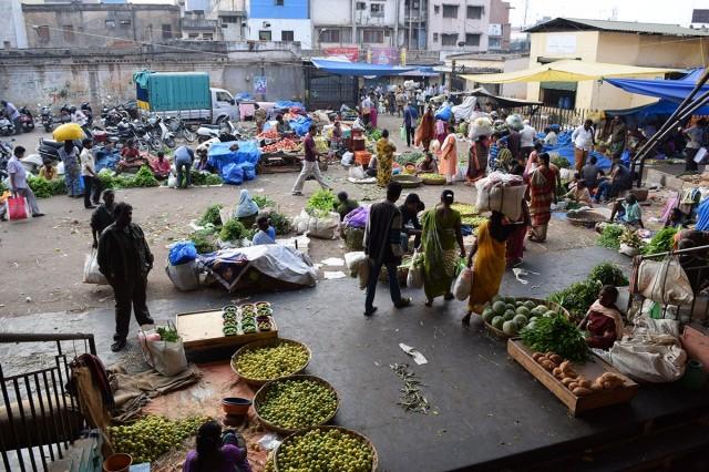 Zdjęcia: Bangalore, Karnataka, Bangalore Fruit Market 1, INDIE