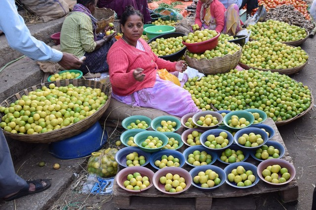 Zdjęcia: Bangalore, Karnataka, Bangalore Fruit Market 2, INDIE