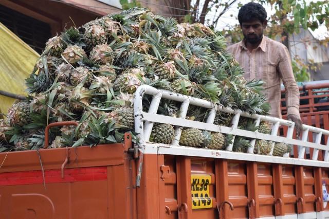 Zdjęcia: Bangalore, Karnataka, Bangalore Fruit Market 5, INDIE