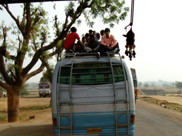 Zdjęcia: Radżastan, Wesoły autobus, INDIE