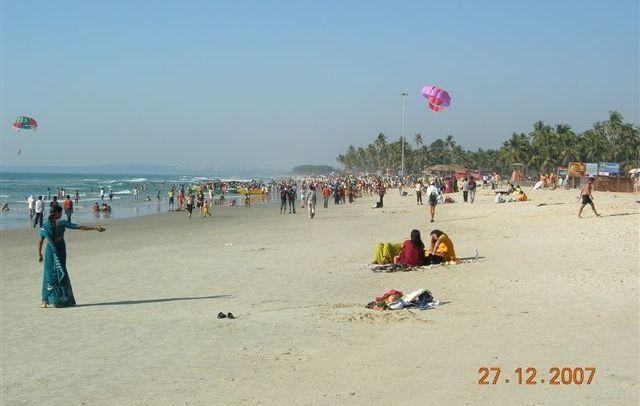 Zdjęcia: Colva Beach, Goa, plaże Goa, INDIE