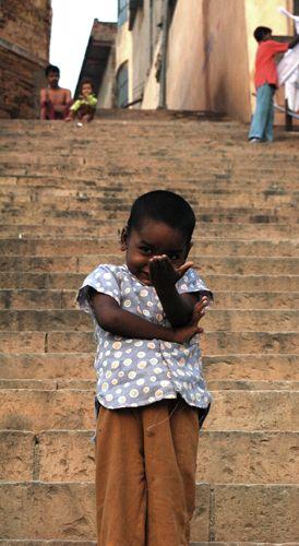 Zdj�cia: Varanasi, pierwsze kroki w zebraniu, INDIE