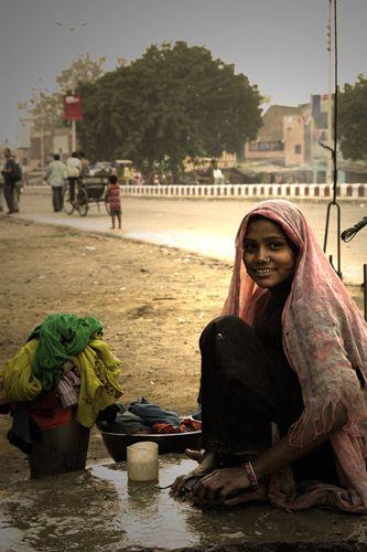Zdjęcia: Agra, praczka, INDIE