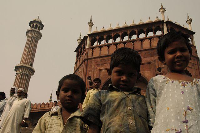 Zdjęcia: Delhi, a mialo byc zdjecie meczetu ;), INDIE