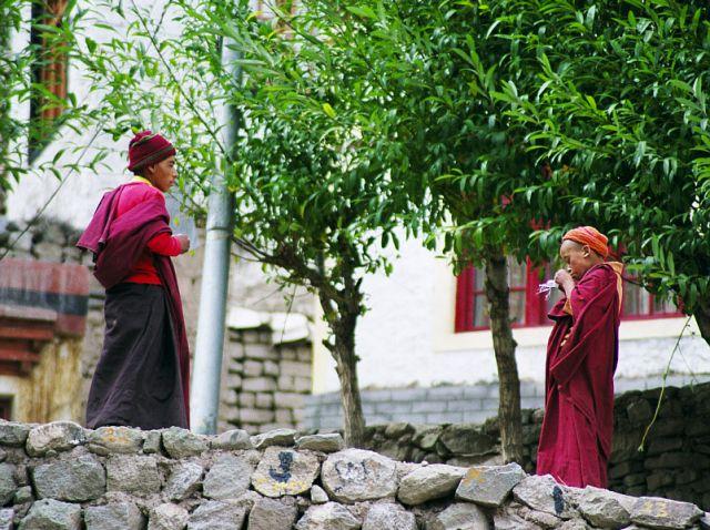 Zdjęcia: Hemis Gonpa- Ladakh- J&K, Ladakh- Jammu&Kashmir- Indie Północne, Pogawędki, INDIE