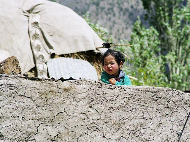 Zdj�cia: Keylong, Lahaul- Indie P�nocne, ma�a Pema, INDIE