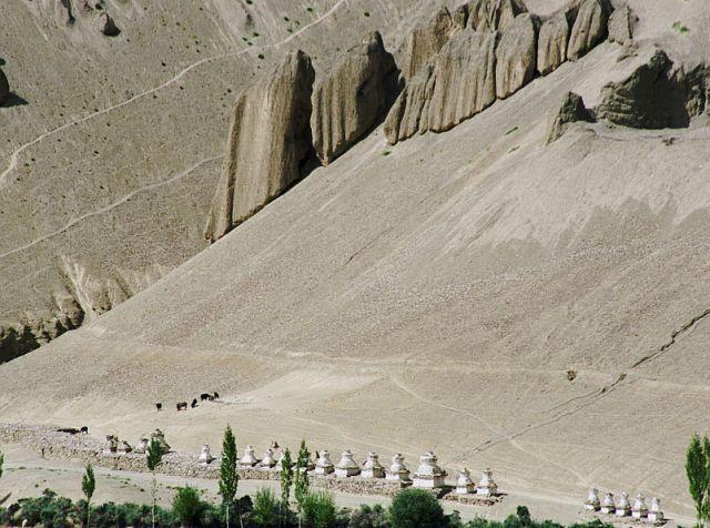 Zdjęcia: Lamayuru, Ladakh- J&K- Indie Północne, Lamayuru- Wanla, INDIE