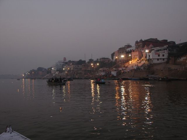 Zdjęcia: Varanasi, Ganges w Varanasi, INDIE